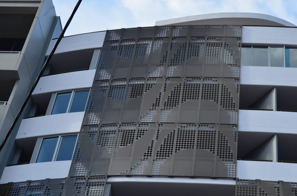 Modern Metal Architecture Perforated Metal Facade
