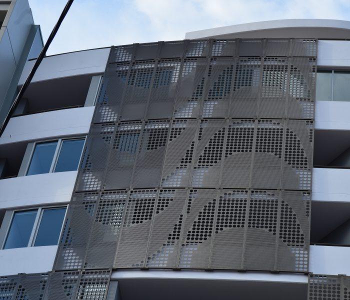 342 Bay Street, Brighton Le Sands's building metal facade