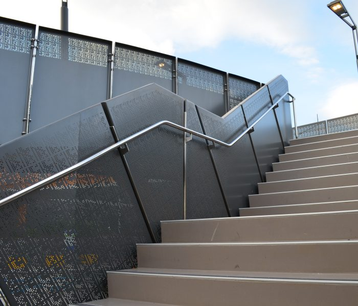 Brisbane Ferry Terminals: Perforated Metal Balustrade Panels & Screens