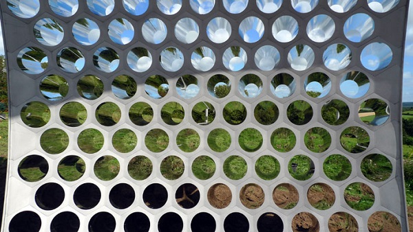 Use perforated metal - inspiring ideas