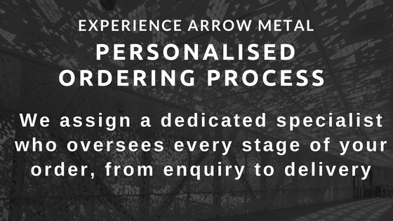 Fast efficient friendly metal product suppliers - Arrow Metal