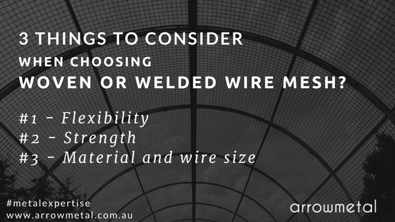 Woven or welded wire mesh for your project