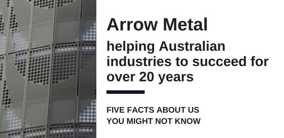 Perforated Metal and Wire Mesh Products: Why work with Arrow Metal?