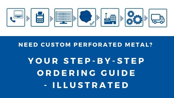 Ordering custom perforated metal: Your illustrated step-by-step guide
