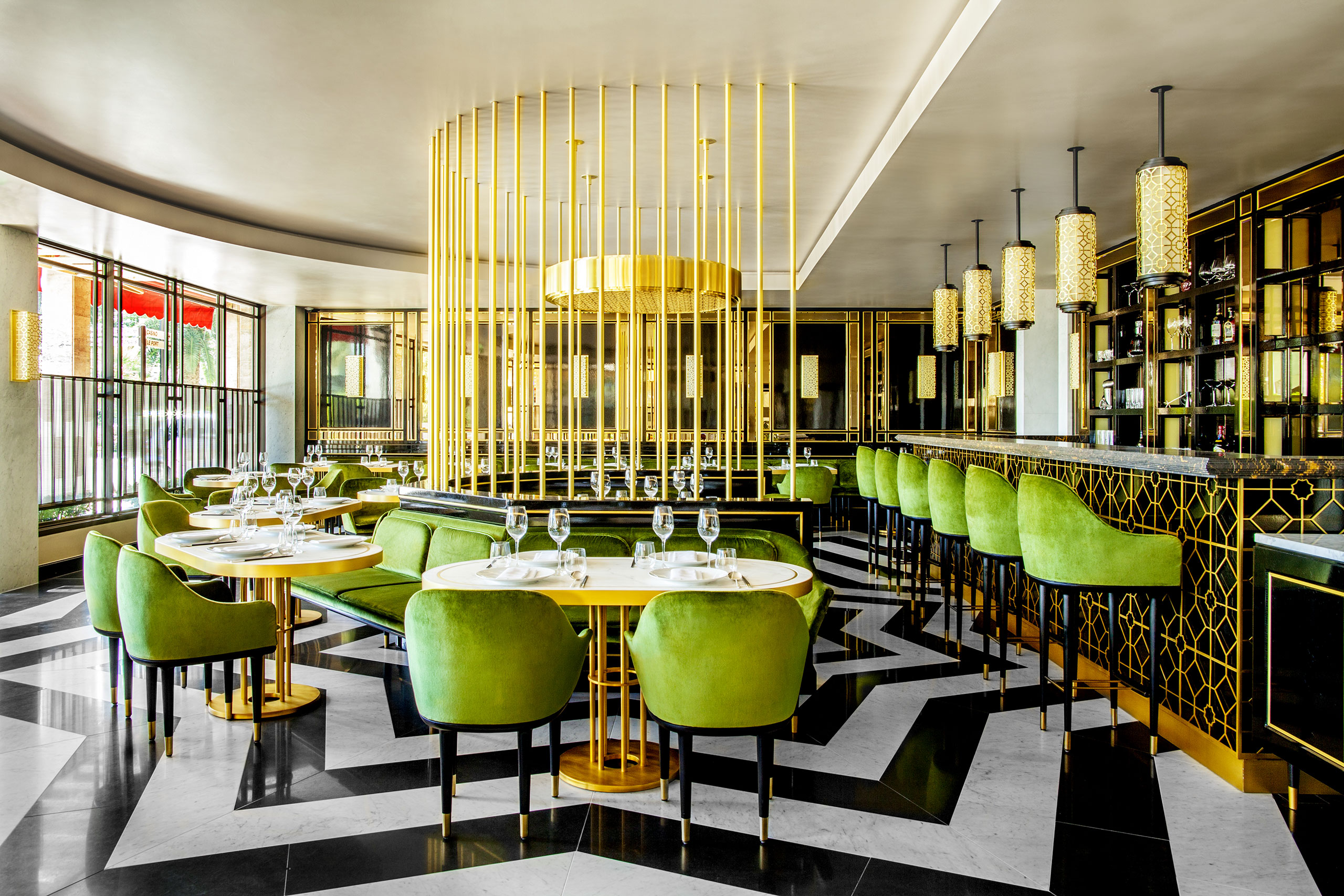 BRASS INTERIOR DESIGN - restaurant design