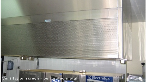Perforated metal and wire mesh products - screen - perforated metal - Arrow Metal