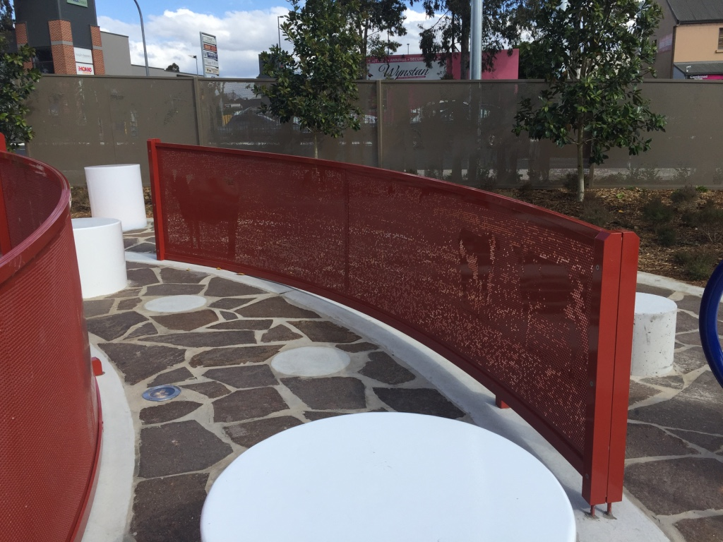 Round hole perforated metal screens by Arrow Metal