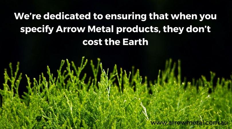 Environmental metal manufacturing at Arrow Metal