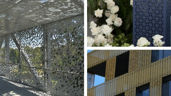 Decorative perforated metal: Design ideas and expertise for your project