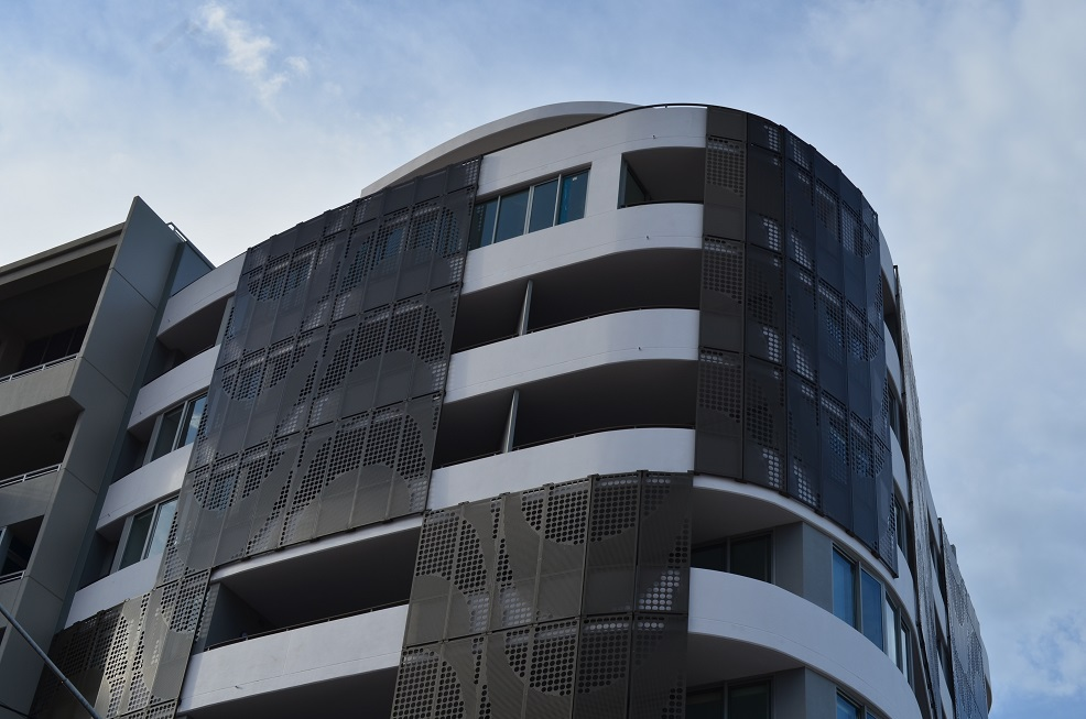 Keep buildings cool with perforated metal from Arrow Metal