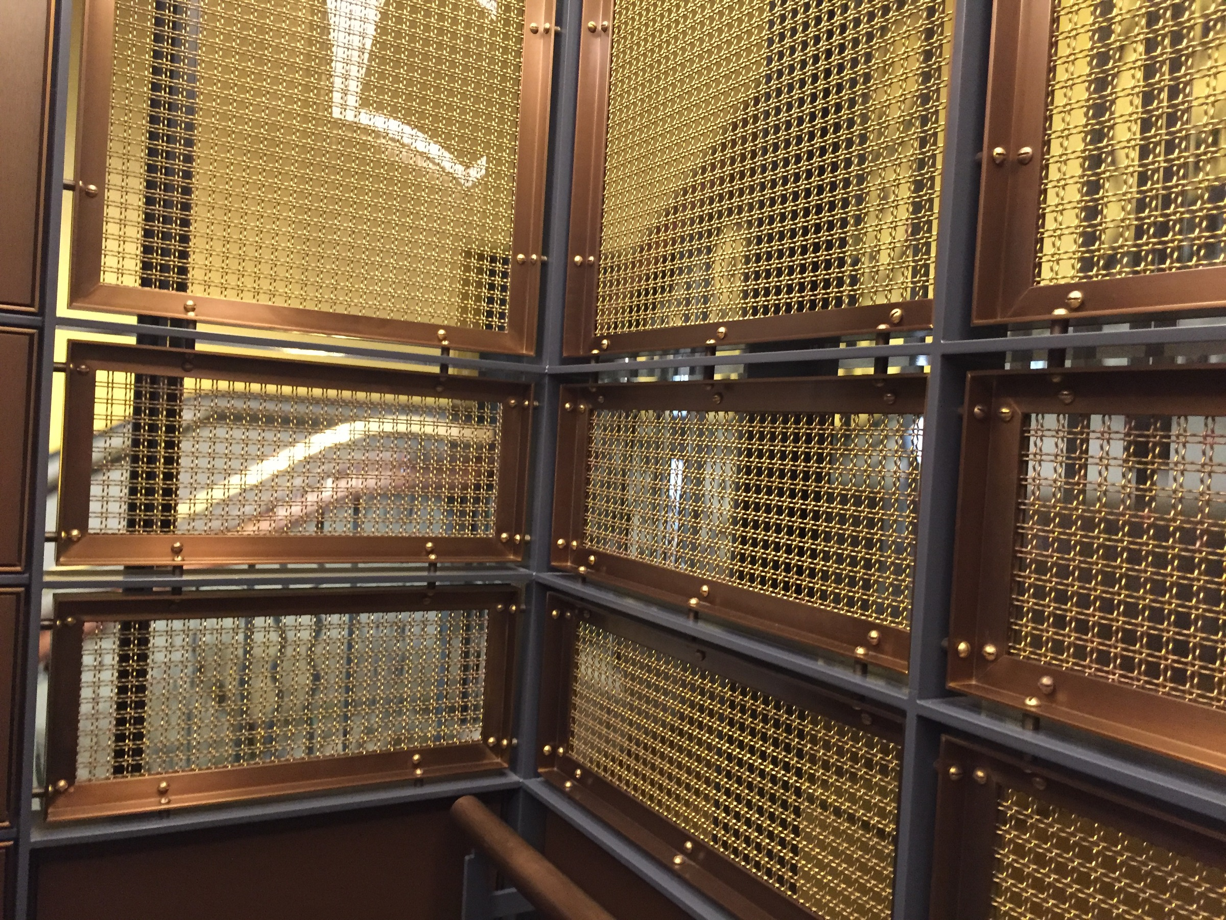 Brass Wire Mesh Life Interiors By Arrow Metal Qvb Sydney