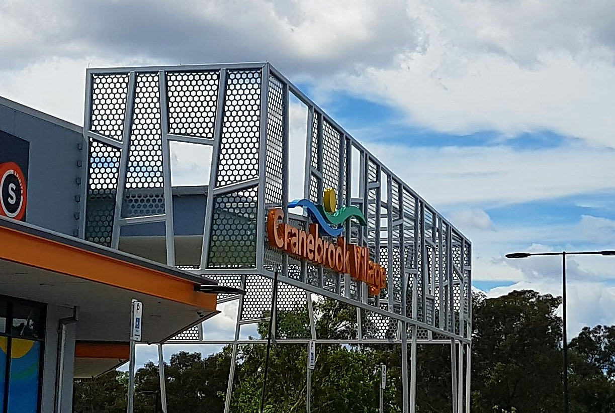 Favourite projects of 2017 - Cranebrook shopping centre
