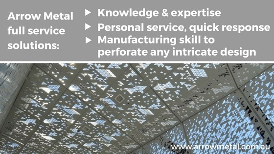 Full-service solution: Ordering perforated metal, woven or welded wire mesh