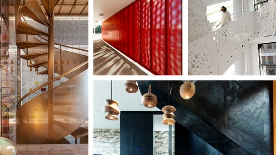 Metal balustrade designs: Going up in style