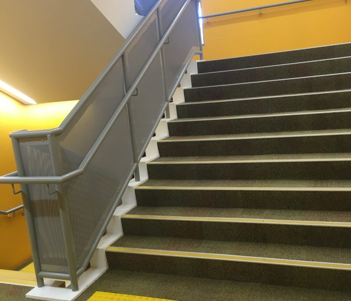 METAL BALUSTRADE FOR SCHOOLS: ST URSULA'S COLLEGE