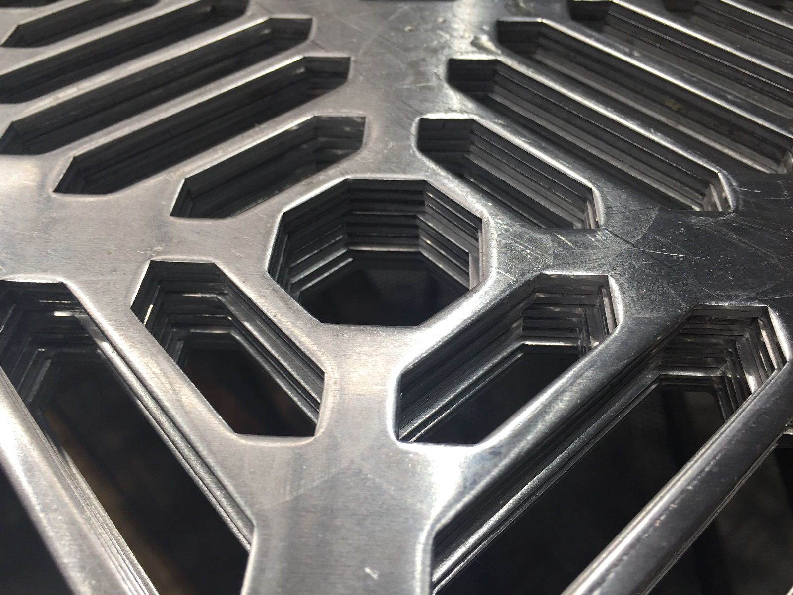Perforated sheet metal designs - new capability at Arrow Metal