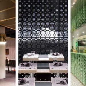 Metal Interiors for restaurants