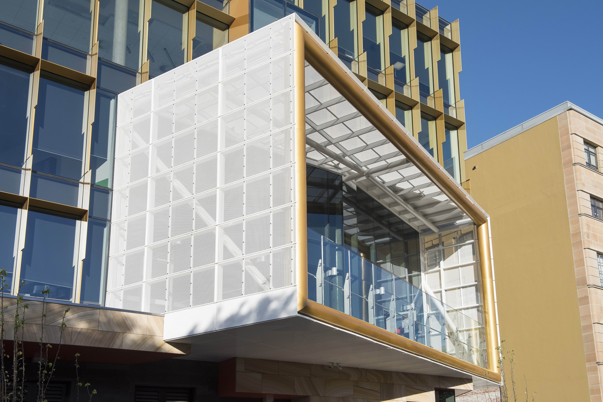 Newcastle Architecture Awards - perforated metal by Arrow Metal