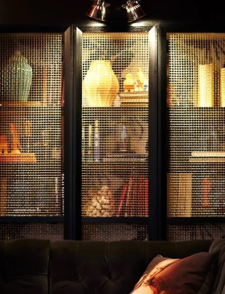 Wire mesh trends - Beresford Hotel