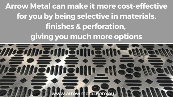 Custom Perforated Metal: 3 Key considerations