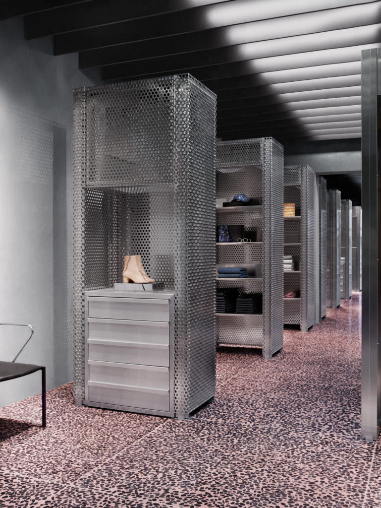 retail store design tips - use perforated metal - Arrow Metal