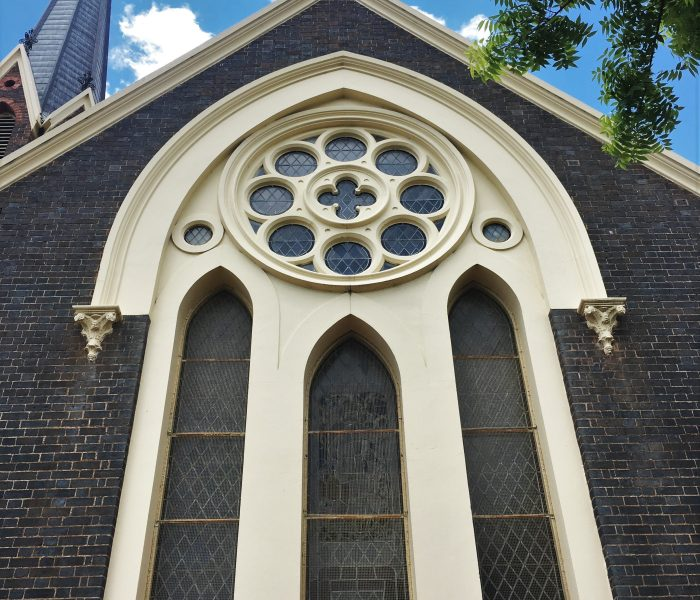 BRASS MESH WINDOW SCREENS: ST PAUL'S CHURCH, ARMIDALE
