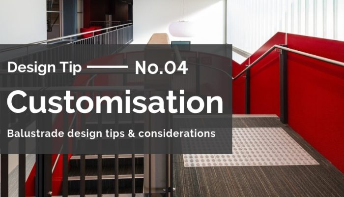 Balustrade design tips and considerations