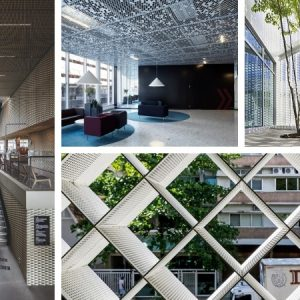 The best perforated metal offices