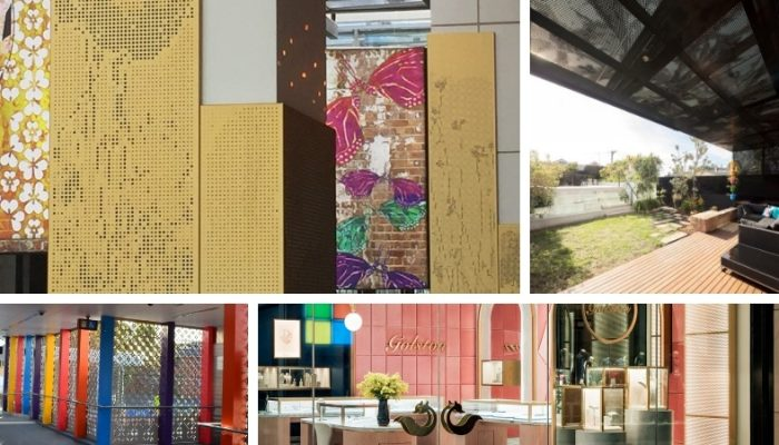 Perforated metal projects: 2018 Highlights
