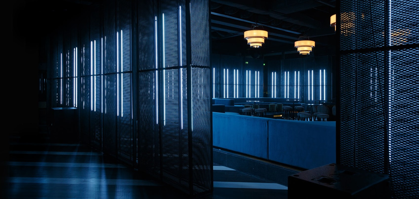 Shipping container architecture - two weeks night club