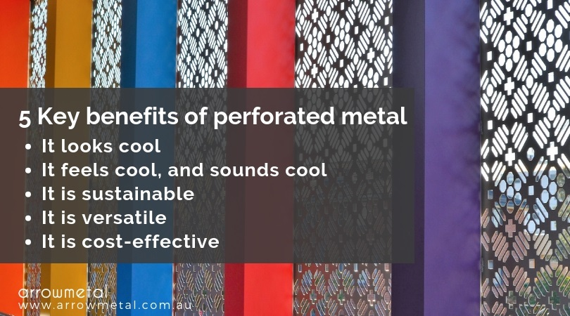 5 key benefits of perforated metal