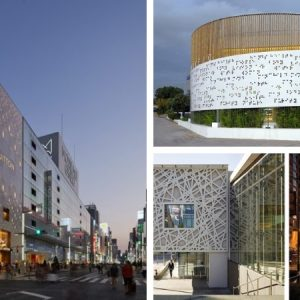 Perforated facades are light magic