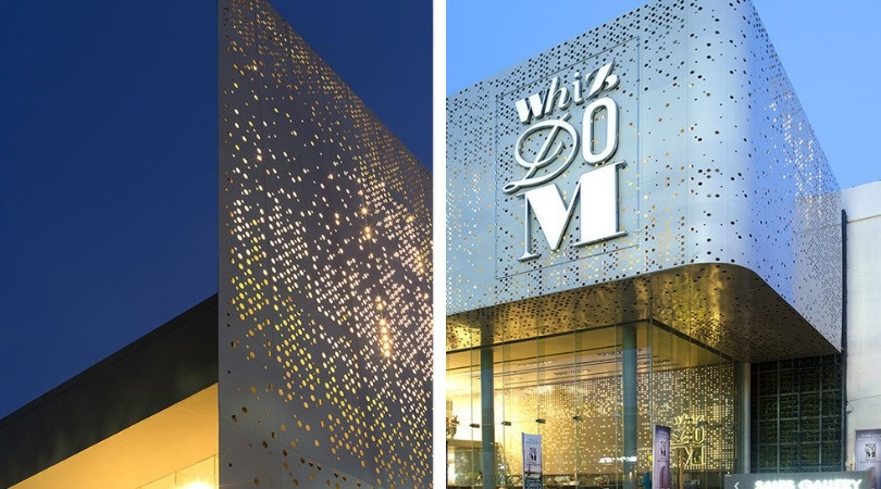 Perforated facades are light magic | Arrow Metal