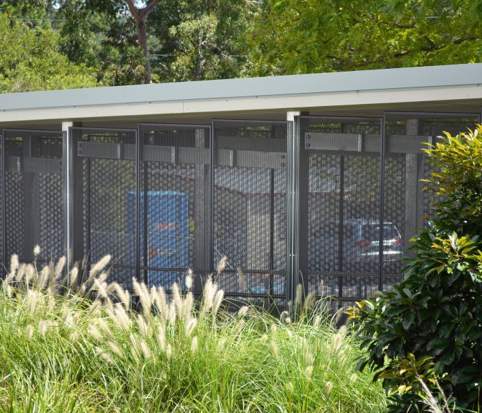 PERFORATED METAL WALKWAY PANELS, GOSFORD HOSPITAL