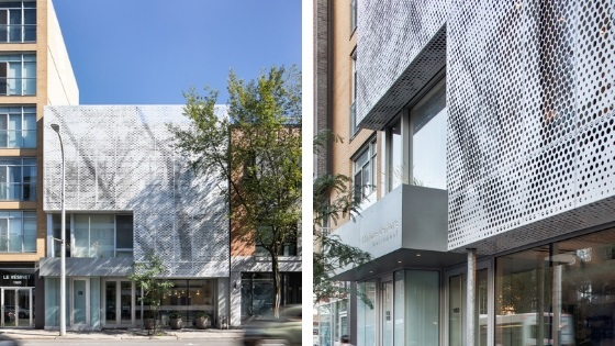 Metal architecture trends - Van Horne Avenue