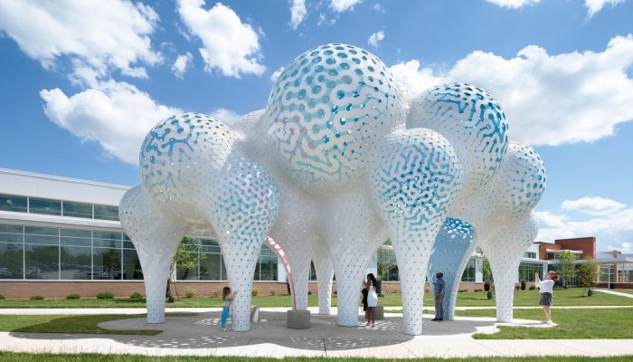 Unusual perforated metal around the World