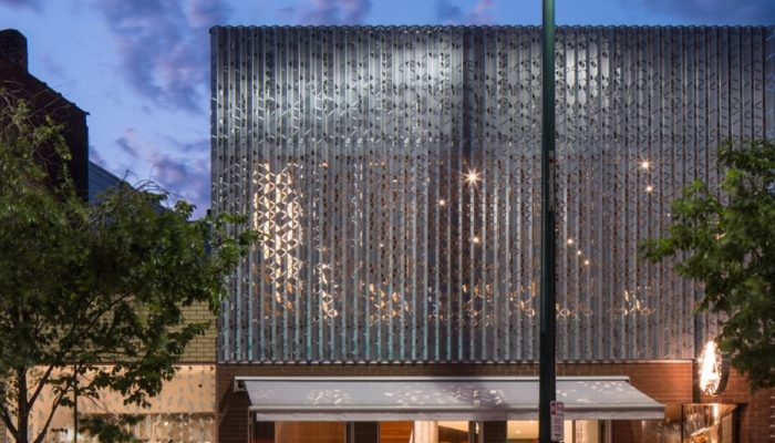 Perforated metal pattern: Unusual Shape Ideas