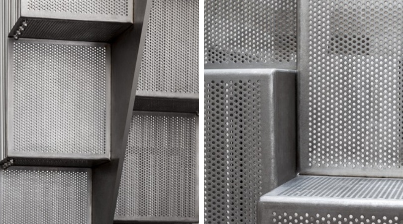 Residential perforated metal