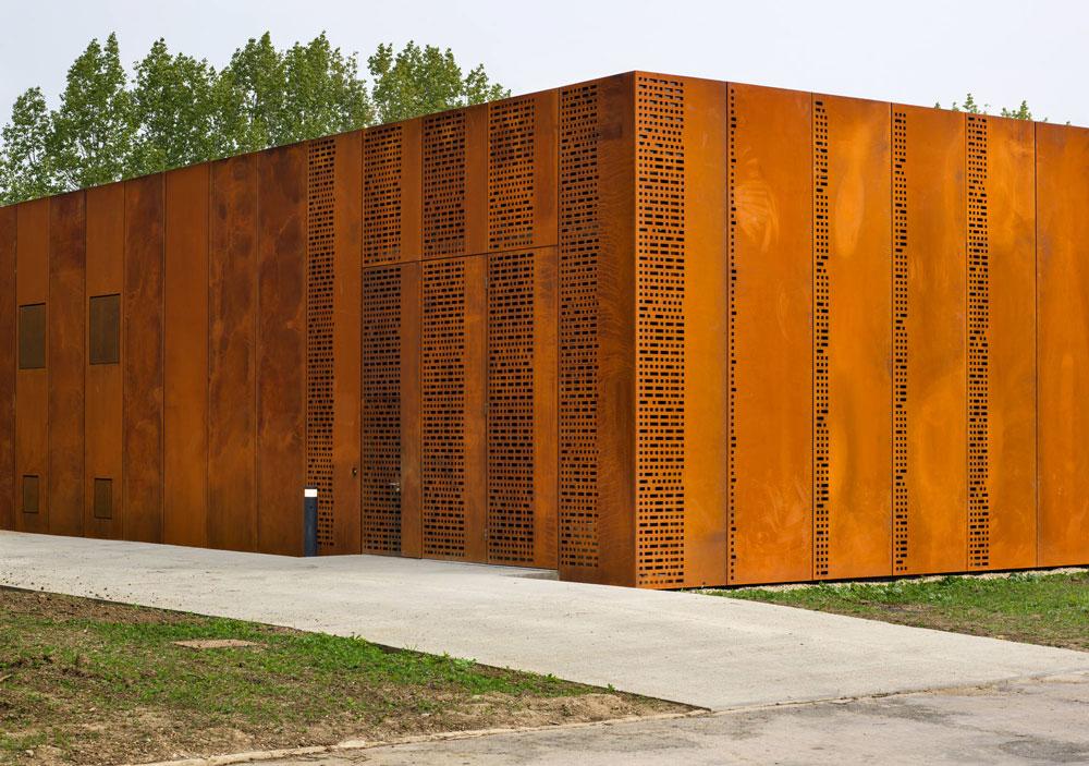 modern perforated metal designs