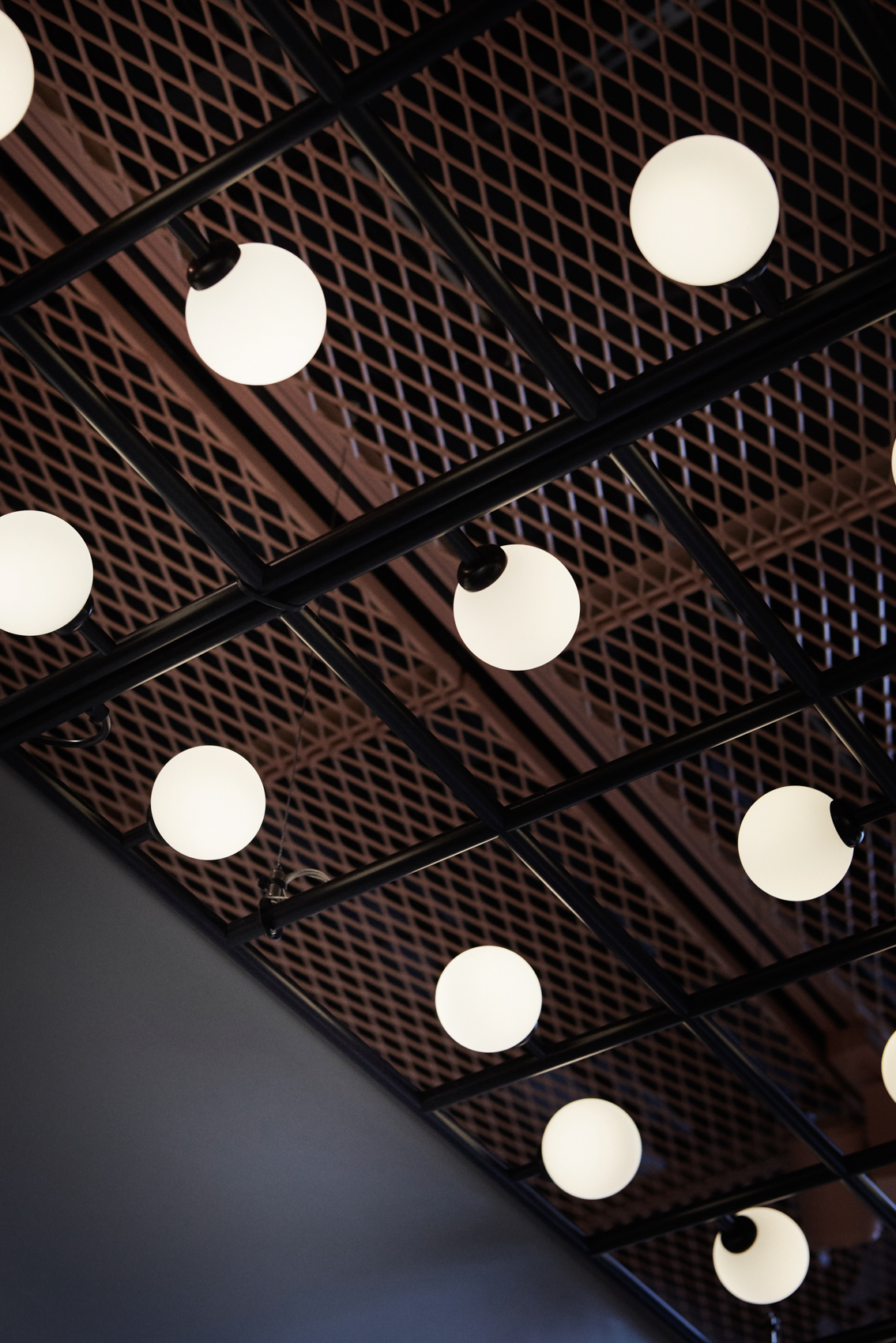 Perforated metal for hotels