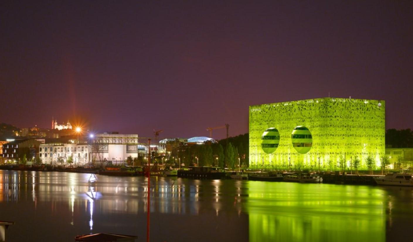 Creative facades - Euronews HQ by Jacob + MacFarlane