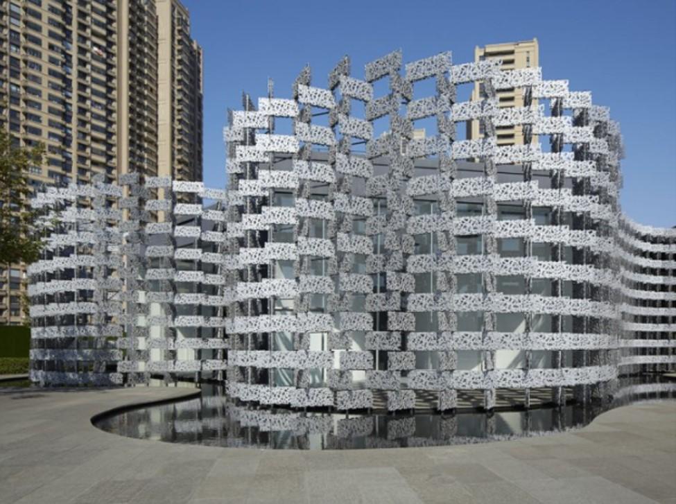Creative facades -Wuxi, China, by Kengo Kuma