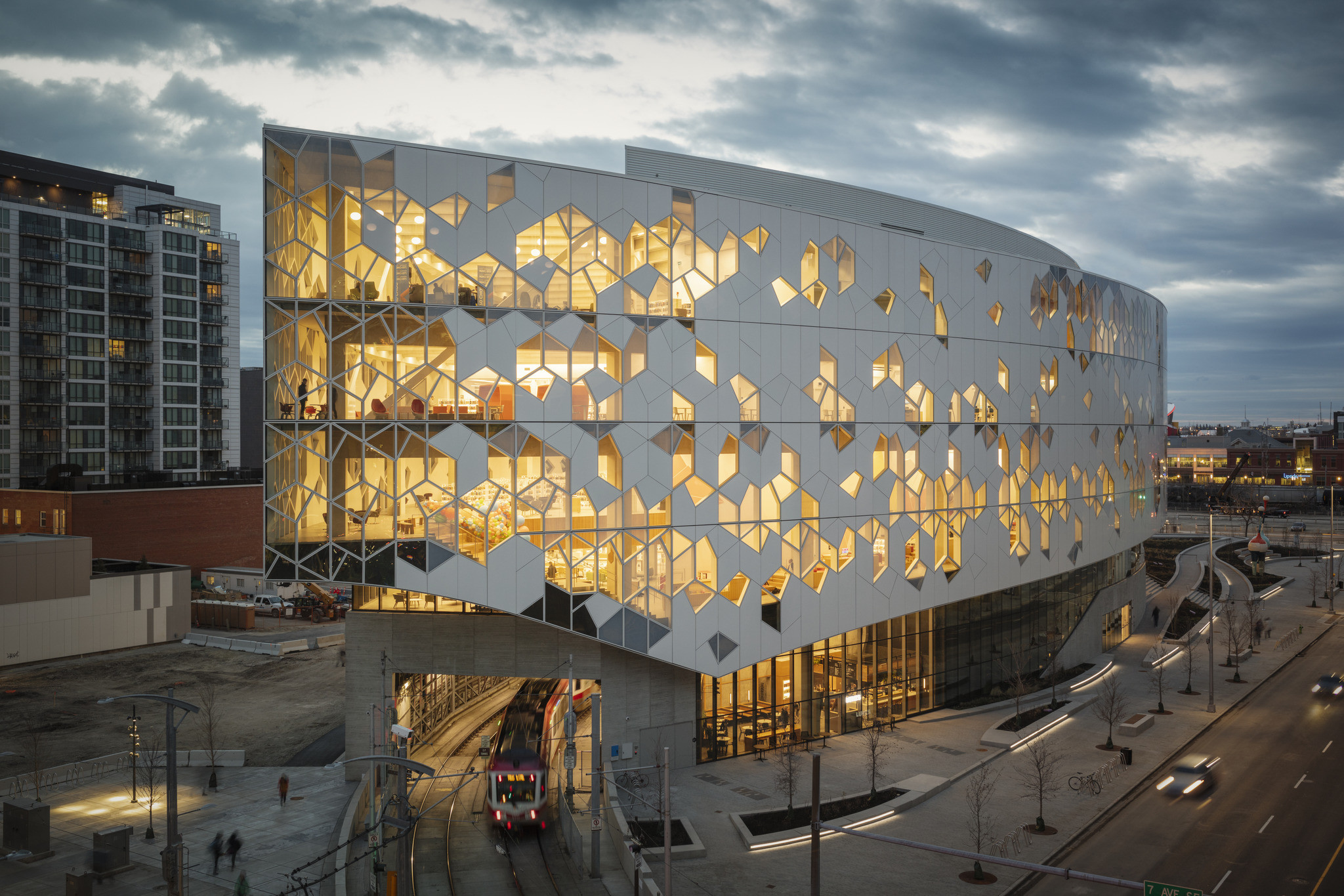 World's greatest places - Calgary Library by Snohetta