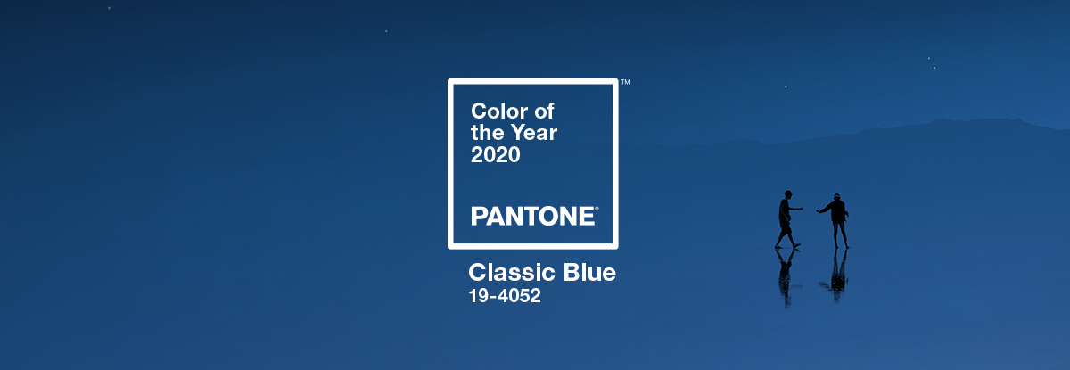 Colour of the year 2020 - Pantone colour blue