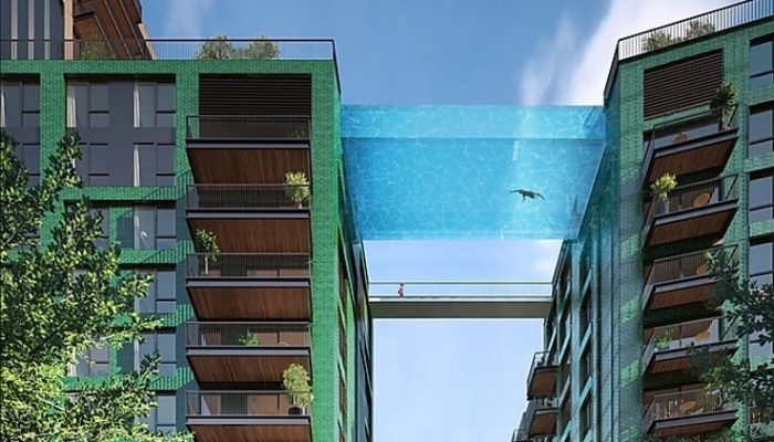 Thrills and Spills: Top High-rise swimming pools