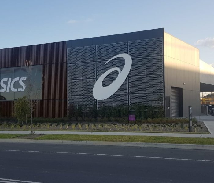 ALUMINIUM PERFORATED SHEET, ASICS OCEANIA HQ