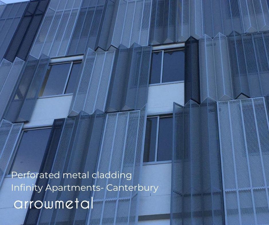 perforated Metal Clading by Arrow Metal