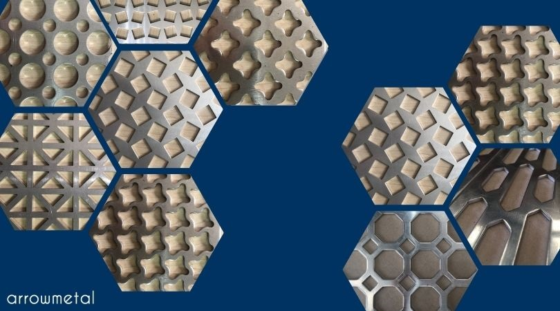 Perforated metal sheets: brand new profiles by Arrow Metal