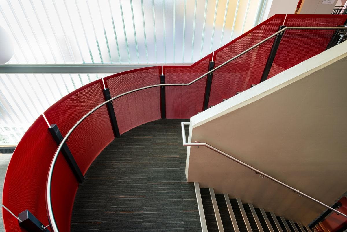 Metal Staircase - Blacktown Tennis Centre - Arrow Metal