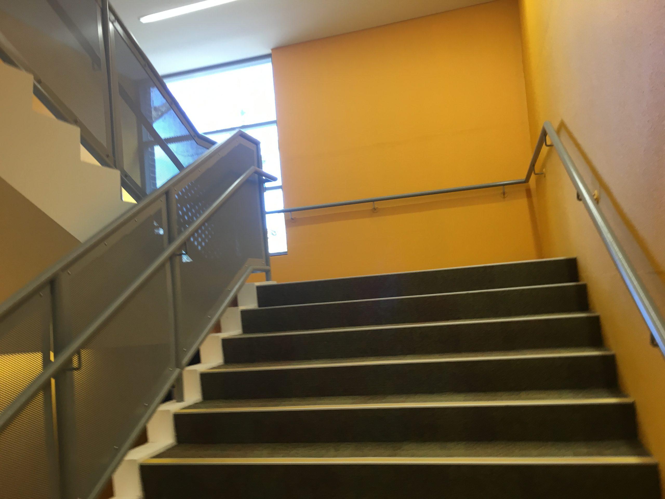 Metal staircase - Ursula's College - Arrow Metal